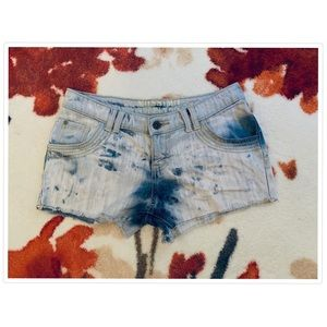 Mossimo Stone Washed Jean Shorts